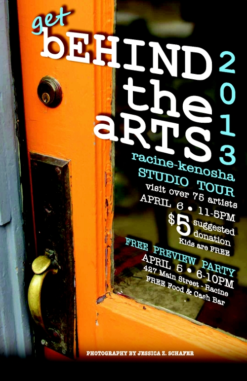 behind the arts 2013 flyer