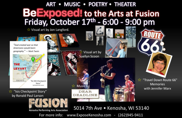 BeExposed! to the Arts at Fusion October 2014