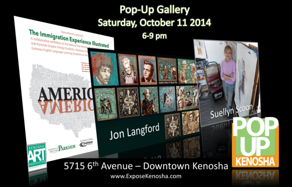 Pop-Up Gallery October, 11 2014